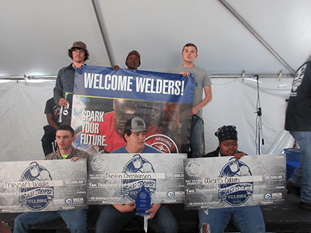 Jackson-Area High School Students Awarded Scholarships for Welding Skills in Regional Competition hosted by Delta Technical College