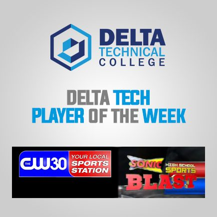 Player of the Week Sponsored by Delta Technical College