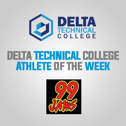 Athlete of the Week Sponsored by Delta Technical College