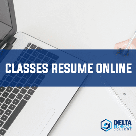 DTC Resumes Current Classes Online
