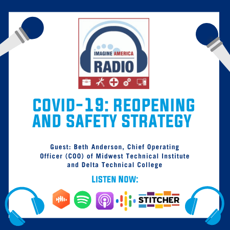 Imagine America Radio Episode 2: COVID-19 Reopening and Safety Strategy